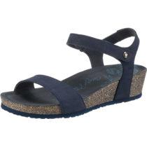 PANAMA JACK Capri Basics B6 Klassische Sandalen dunkelblau Damen Gr. 39