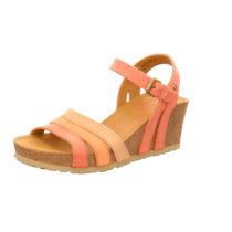 PANAMA JACK Keil-Sandalette Vita Basics B4 Klassische Sandaletten rot Damen Gr. 38