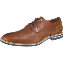 Pantofola d´Oro LAMBRO UOMO LOW Schnürschuhe cognac Herren Gr. 41