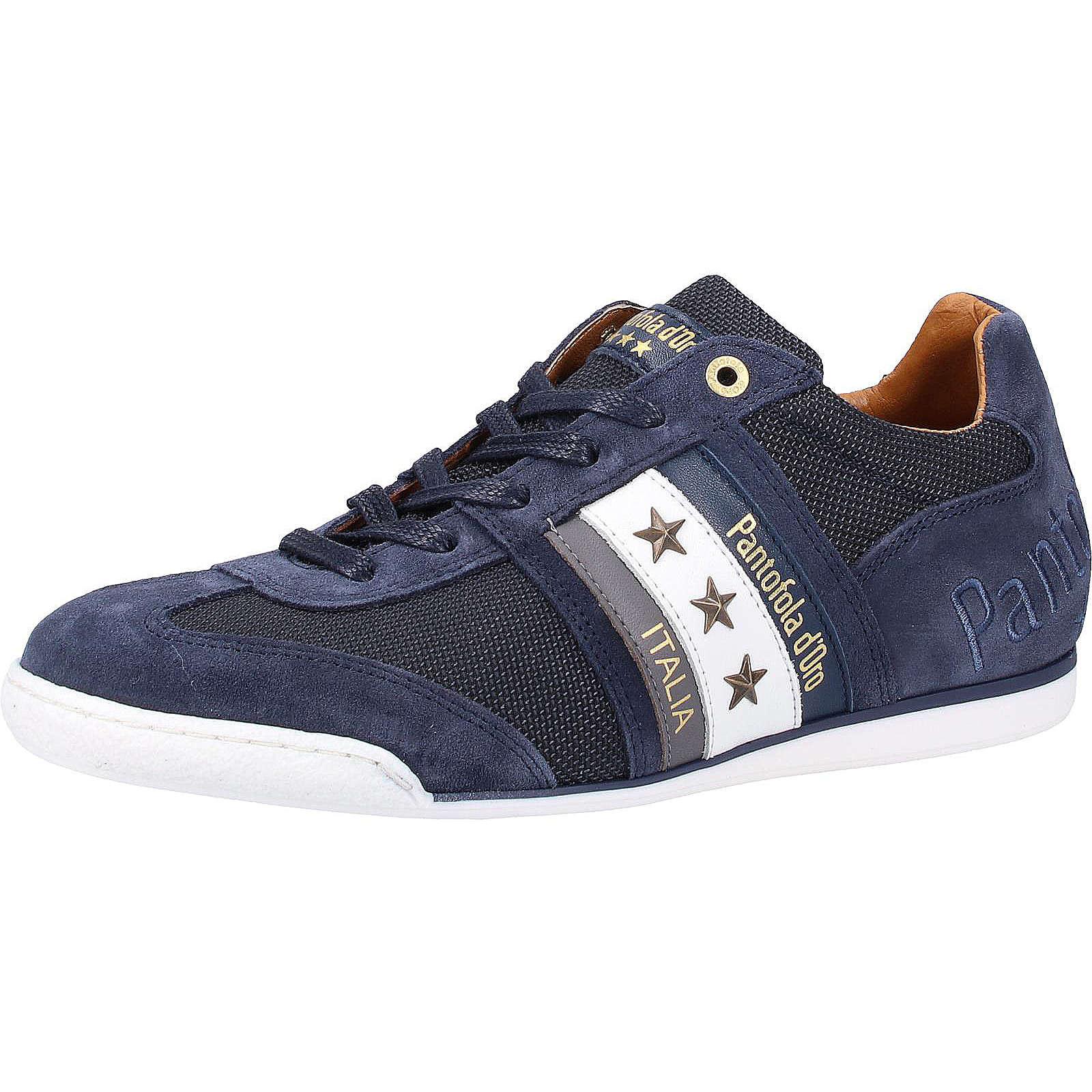 Pantofola d´Oro Sneaker Schnürschuhe dunkelblau Herren Gr. 42