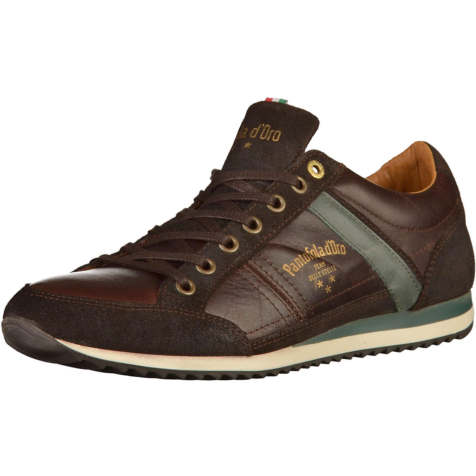 Pantofola d´Oro Sneakers dunkelbraun Herren Gr. 45
