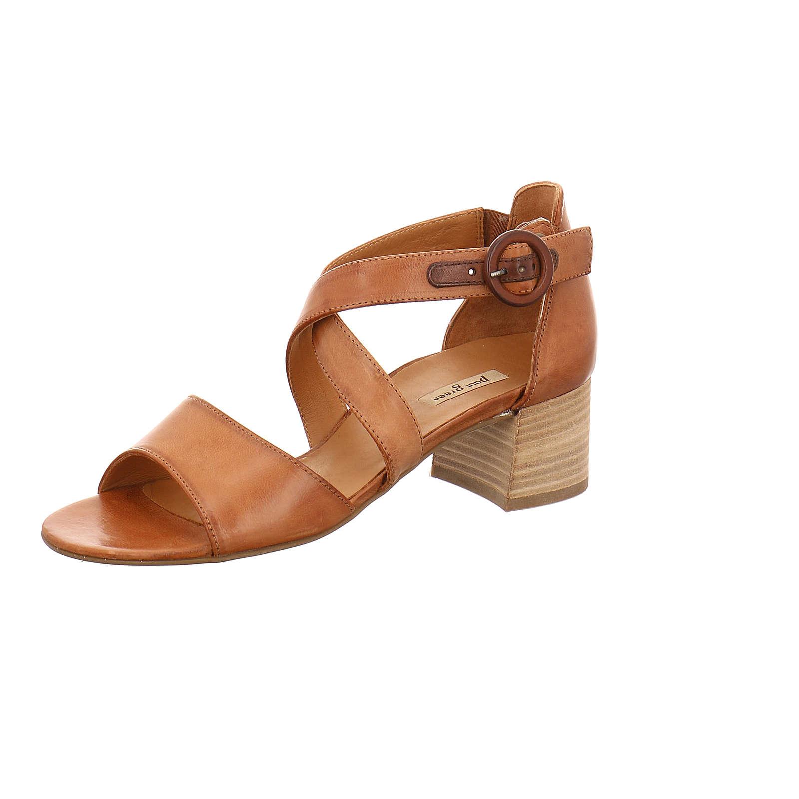 Paul Green Sandalette Klassische Sandaletten beige Damen Gr. 39