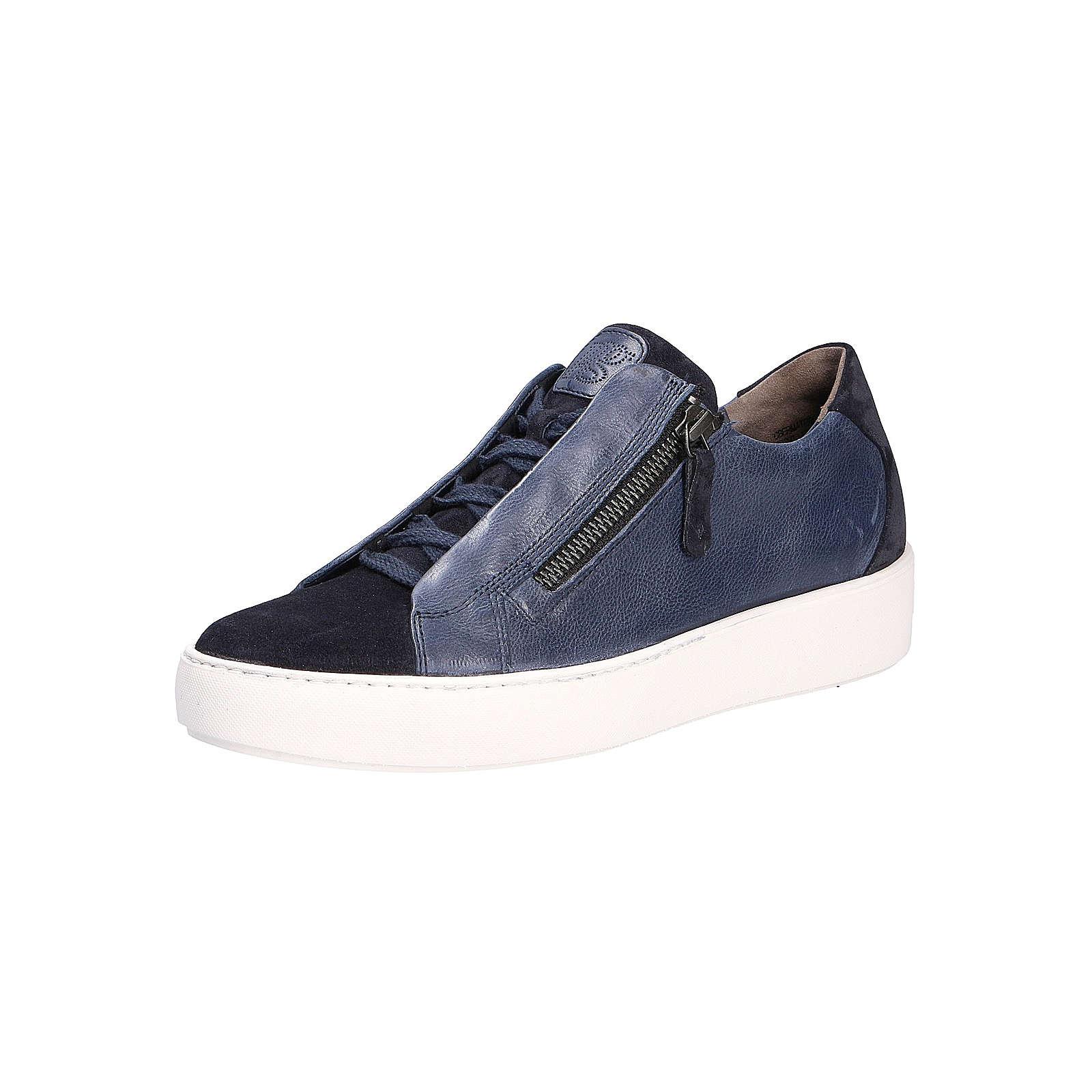 Paul Green Sneakers Low blau Damen Gr. 40,5