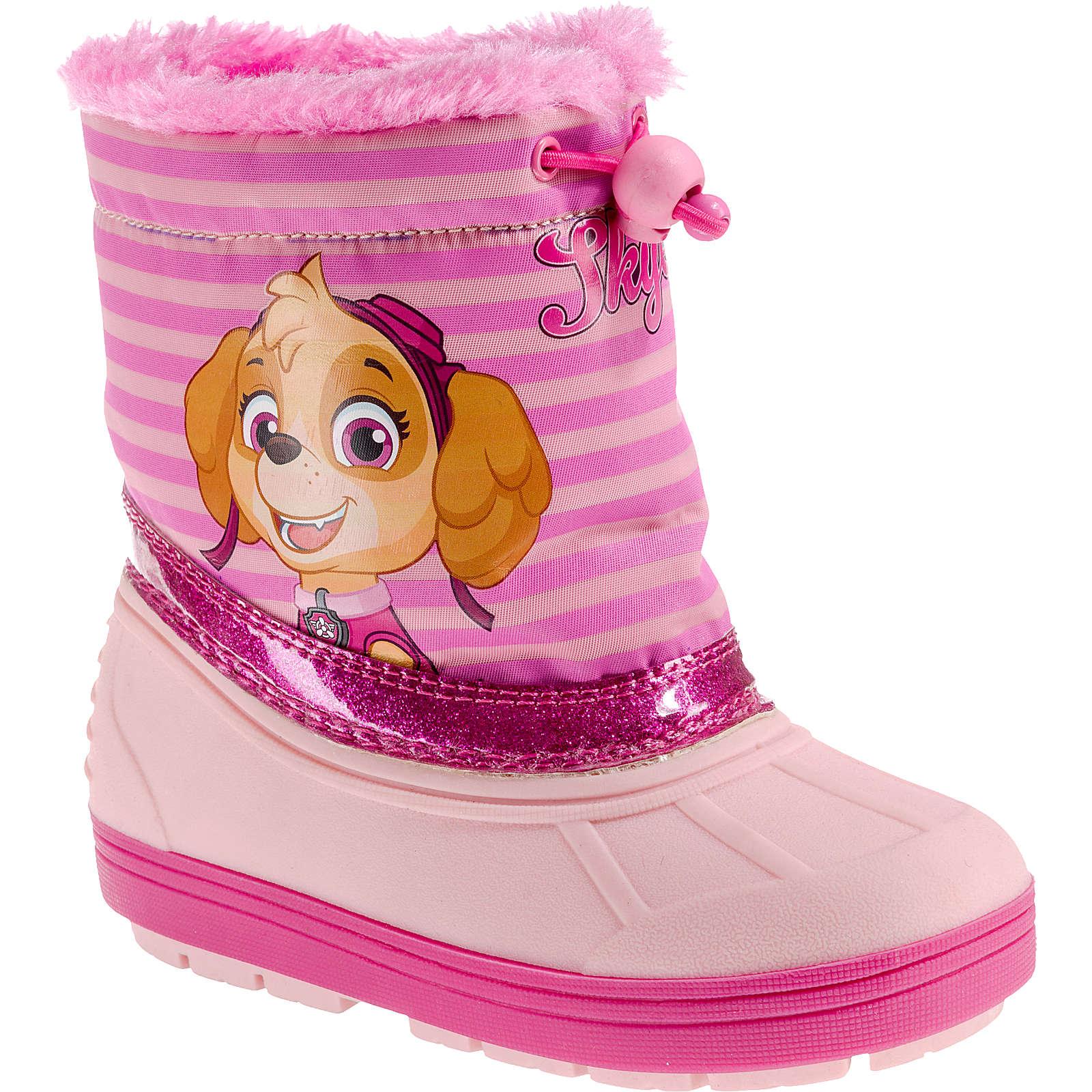 PAW Patrol Winterstiefel für Mädchen, gefüttert pink Mädchen Gr. 25