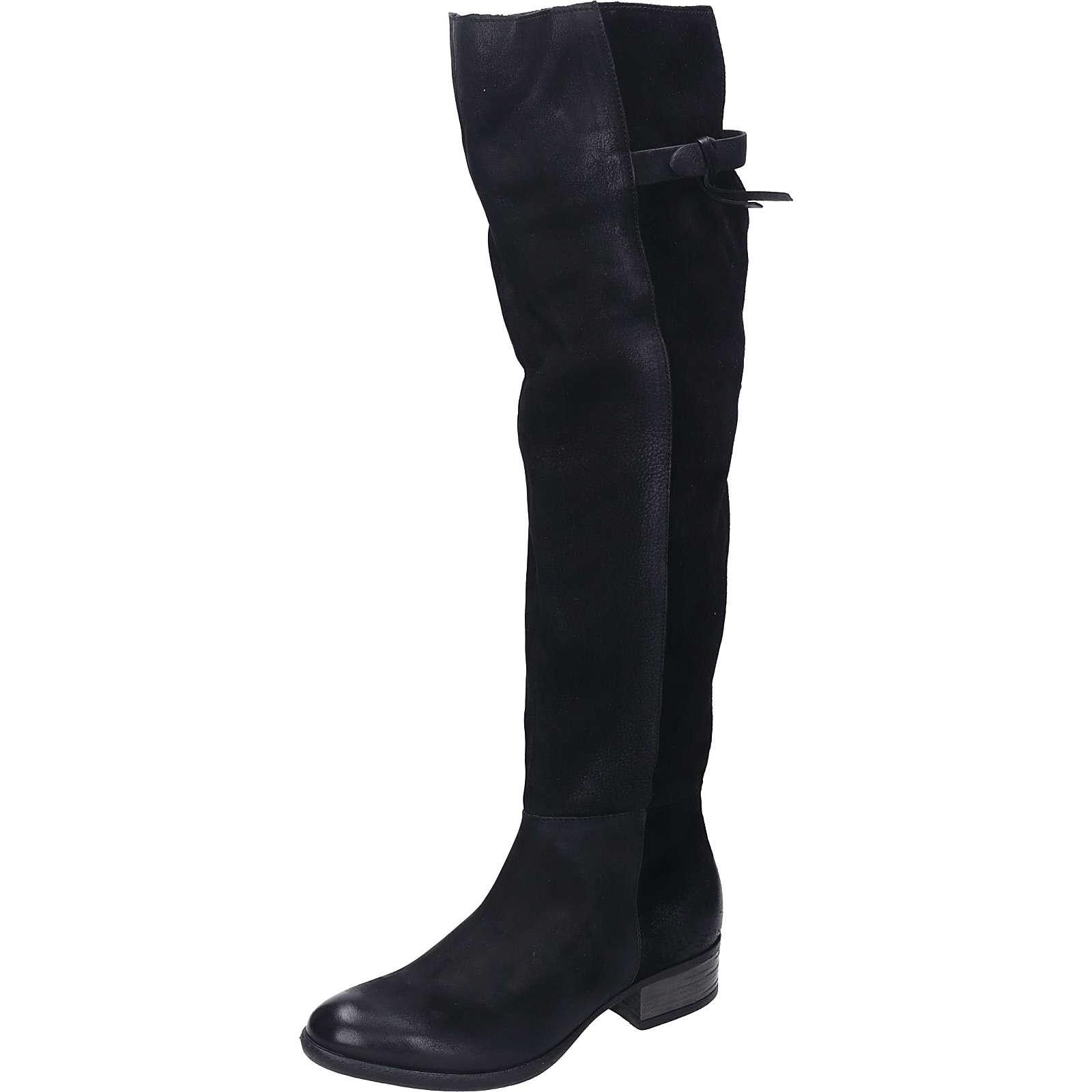 Piazza Damen Stiefel Klassische Stiefel schwarz Damen Gr. 42