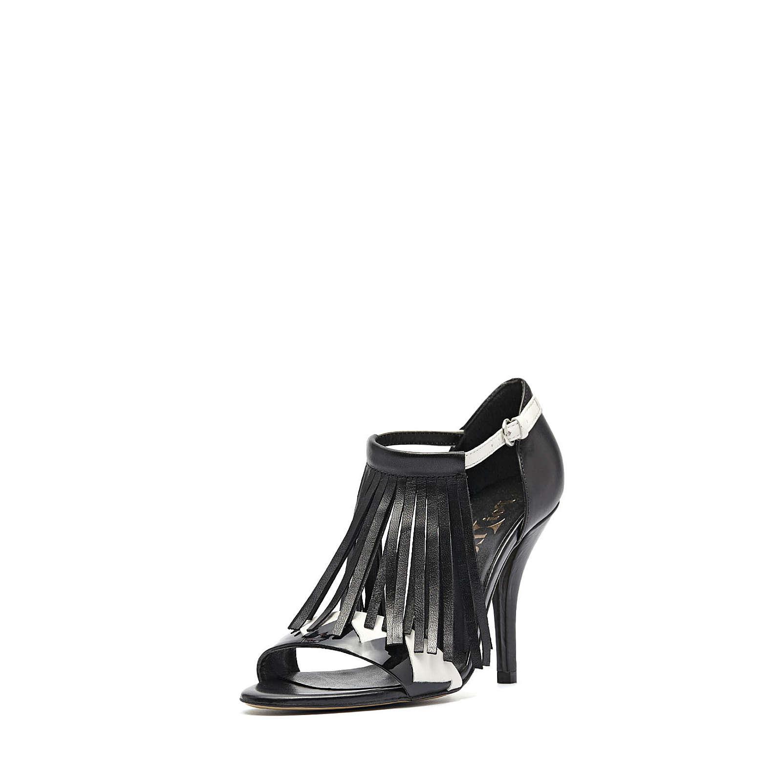 PoiLei Fransen Sandalette Ria Klassische Sandaletten schwarz Damen Gr. 36