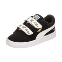 PUMA Baby Sneakers Low Suede schwarz/weiß Gr. 21