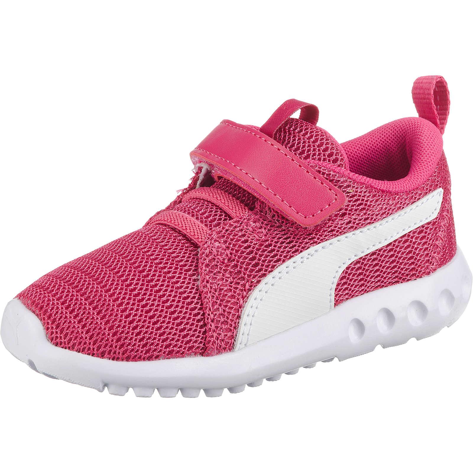 PUMA Baby Sportschuhe CARSON 2 V INF für Mädchen pink Mädchen Gr. 20