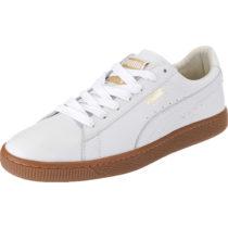 PUMA Basket Classic Gum Deluxe Sneakers Low weiß Herren Gr. 45