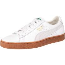 PUMA Basket Classic Gum Deluxe Sneakers weiß Herren Gr. 42,5