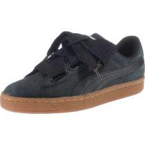 PUMA Basket Heart Perf Gum Sneakers schwarz-kombi Damen Gr. 39