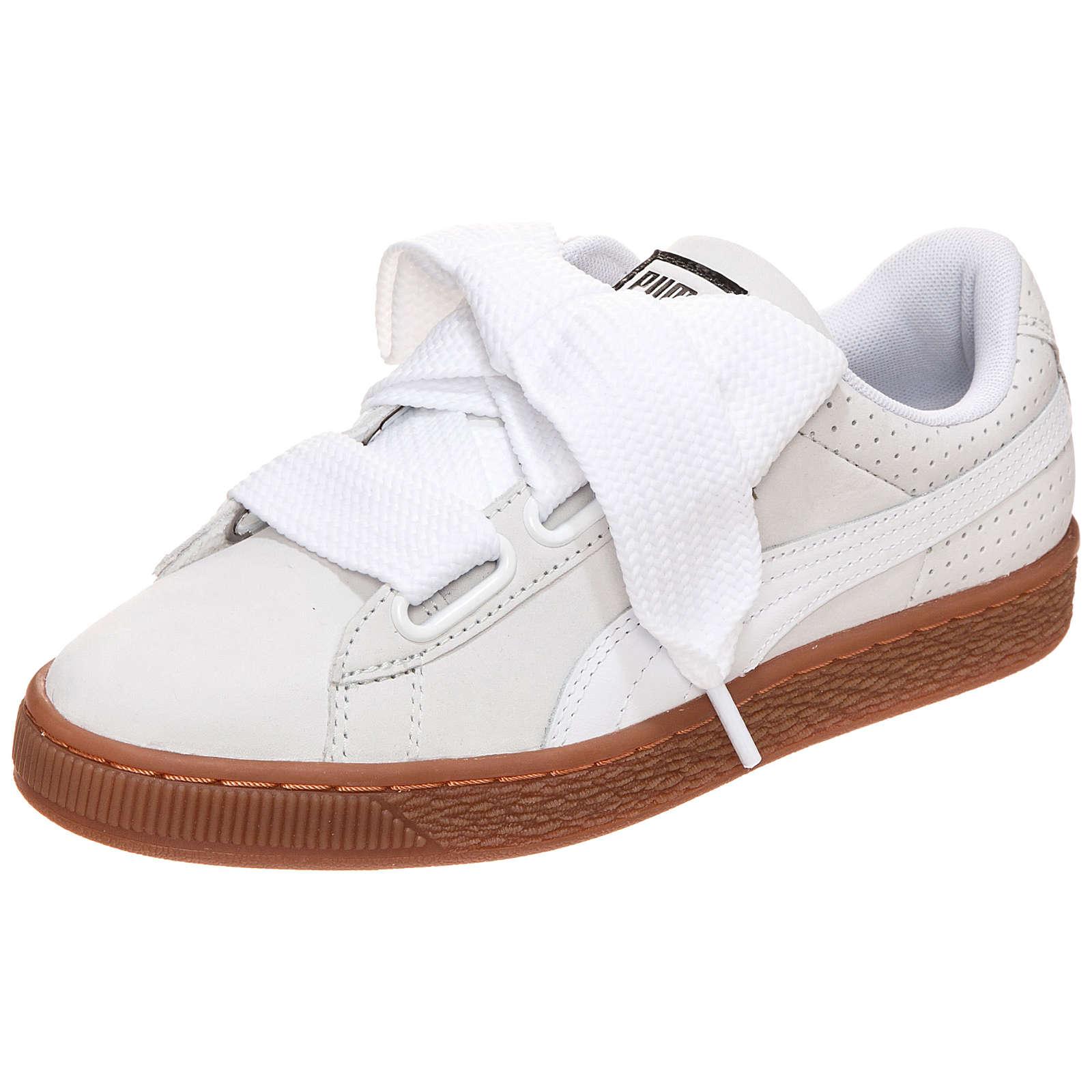 PUMA Basket Heart Sneakers Low gold Damen Gr. 38,5