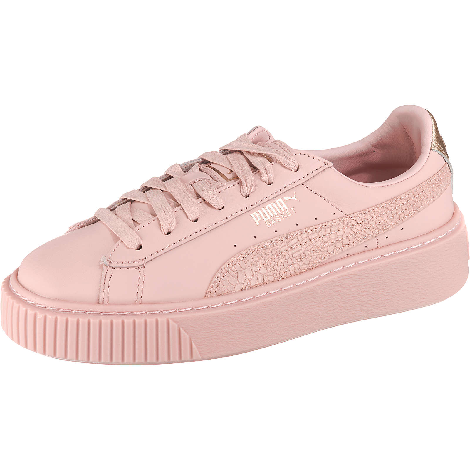 PUMA Basket Platform Euphoria RG Sneakers pink Damen Gr. 37