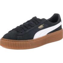 PUMA Basket Platform Perf Gum Sneakers schwarz-kombi Damen Gr. 40