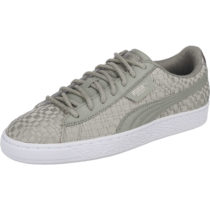 PUMA Basket Satin EP Sneakers grau Damen Gr. 36