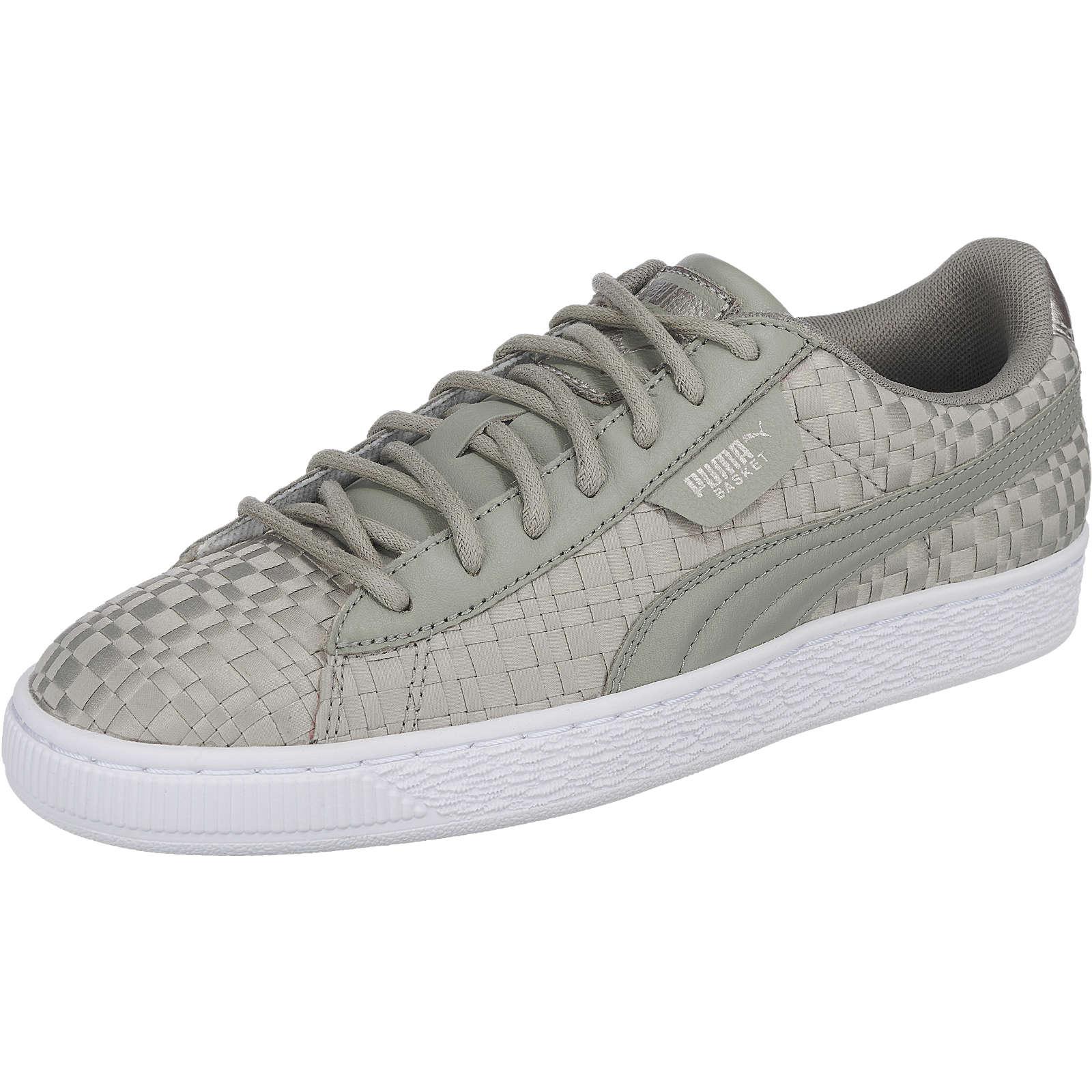 PUMA Basket Satin EP Sneakers grau Damen Gr. 42