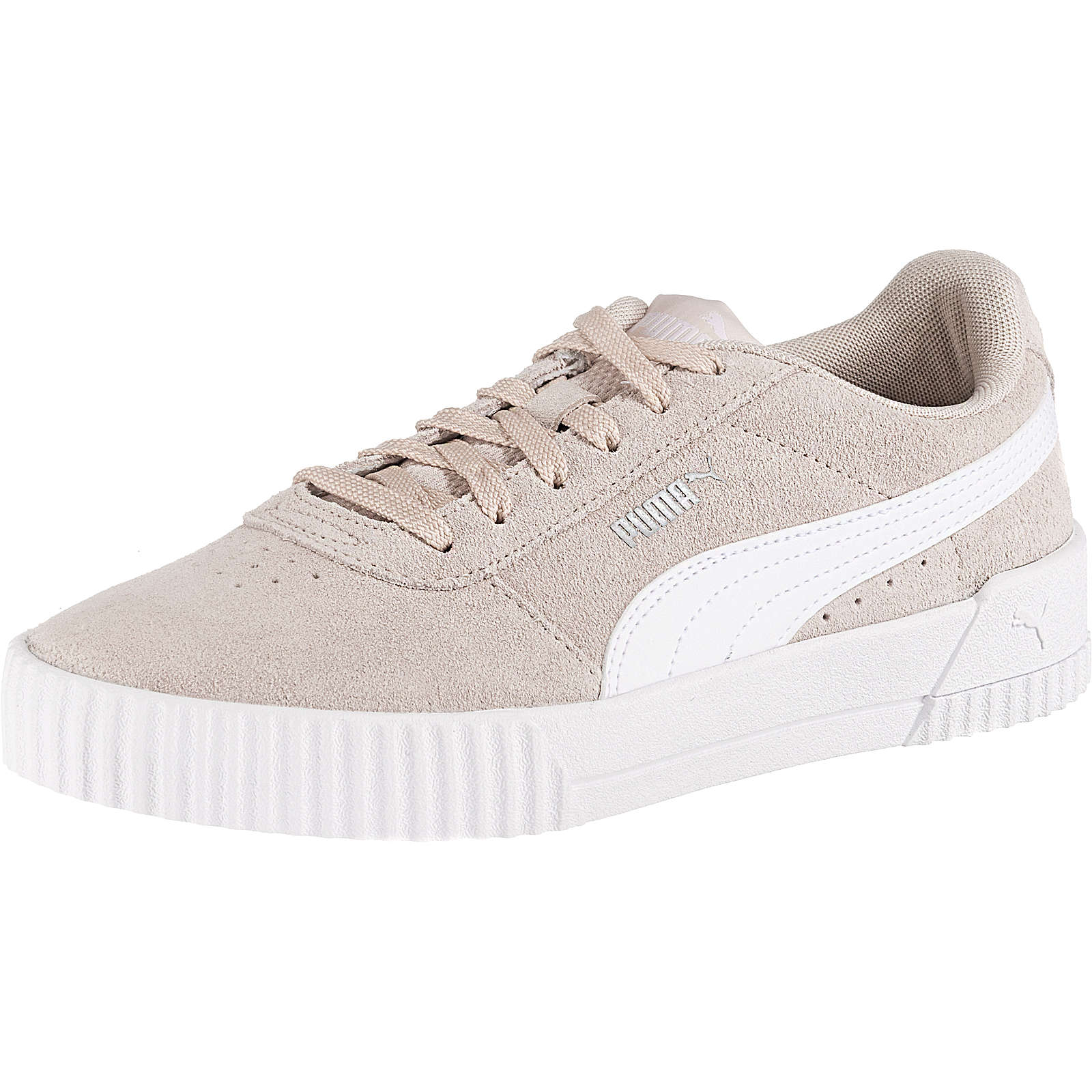 PUMA Carina Sneakers Low taupe Damen Gr. 42,5