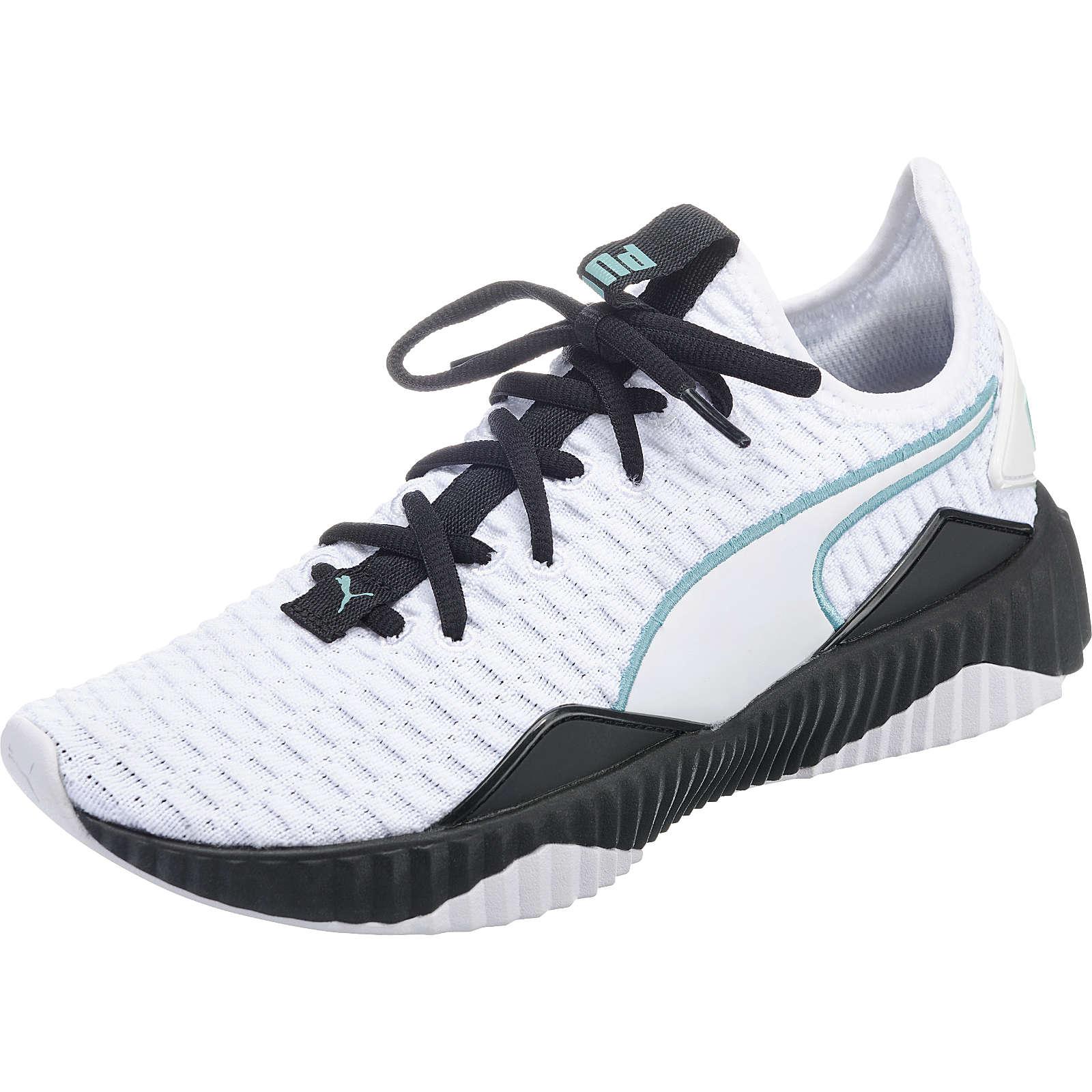 PUMA Defy Sneakers Low weiß-kombi Damen Gr. 40