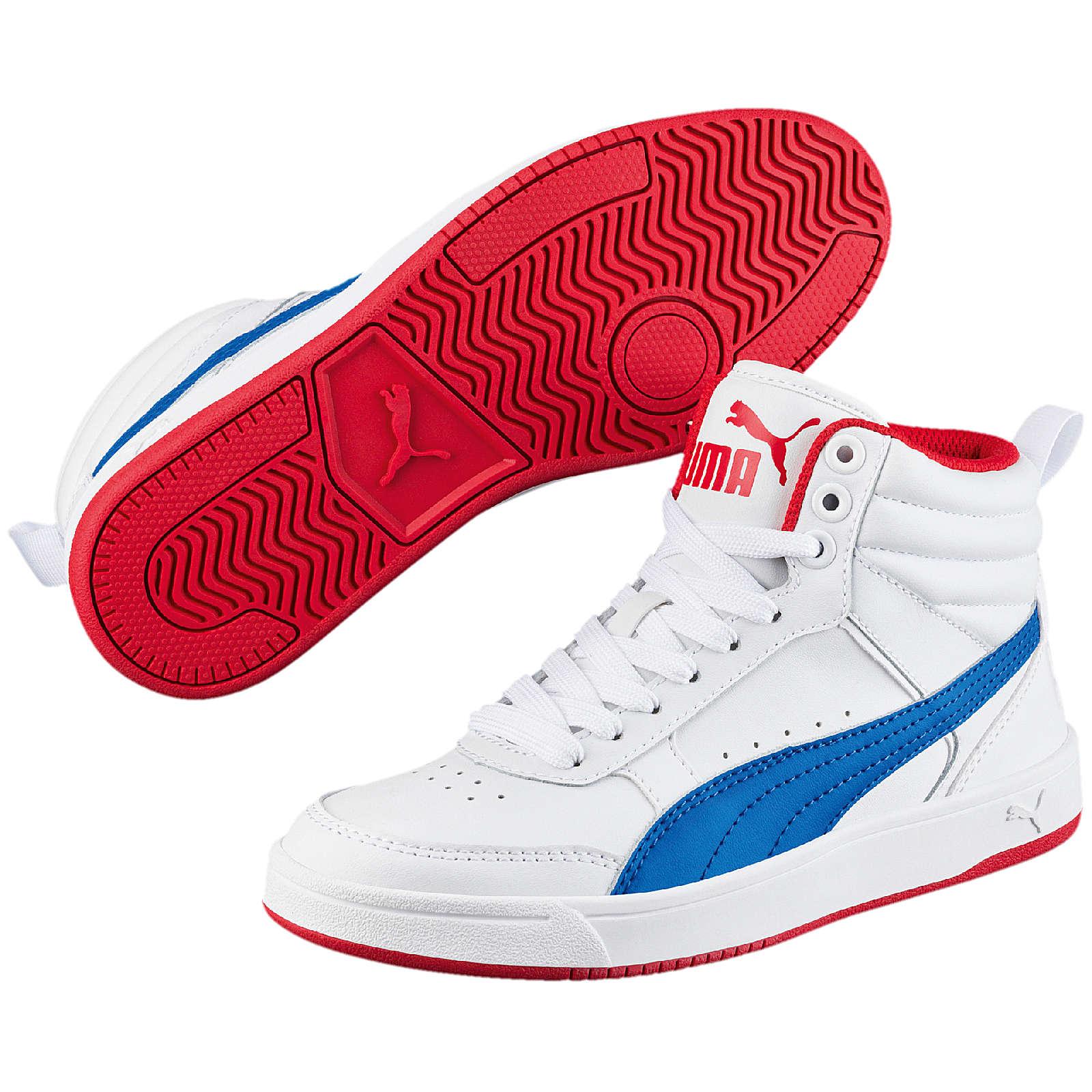 PUMA Kinder Sneakers High für Jungen weiß Junge Gr. 37