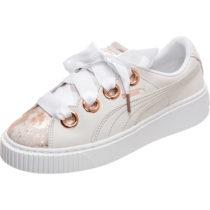 PUMA Platform Kiss Artica Sneaker Damen weiß Damen Gr. 37,5