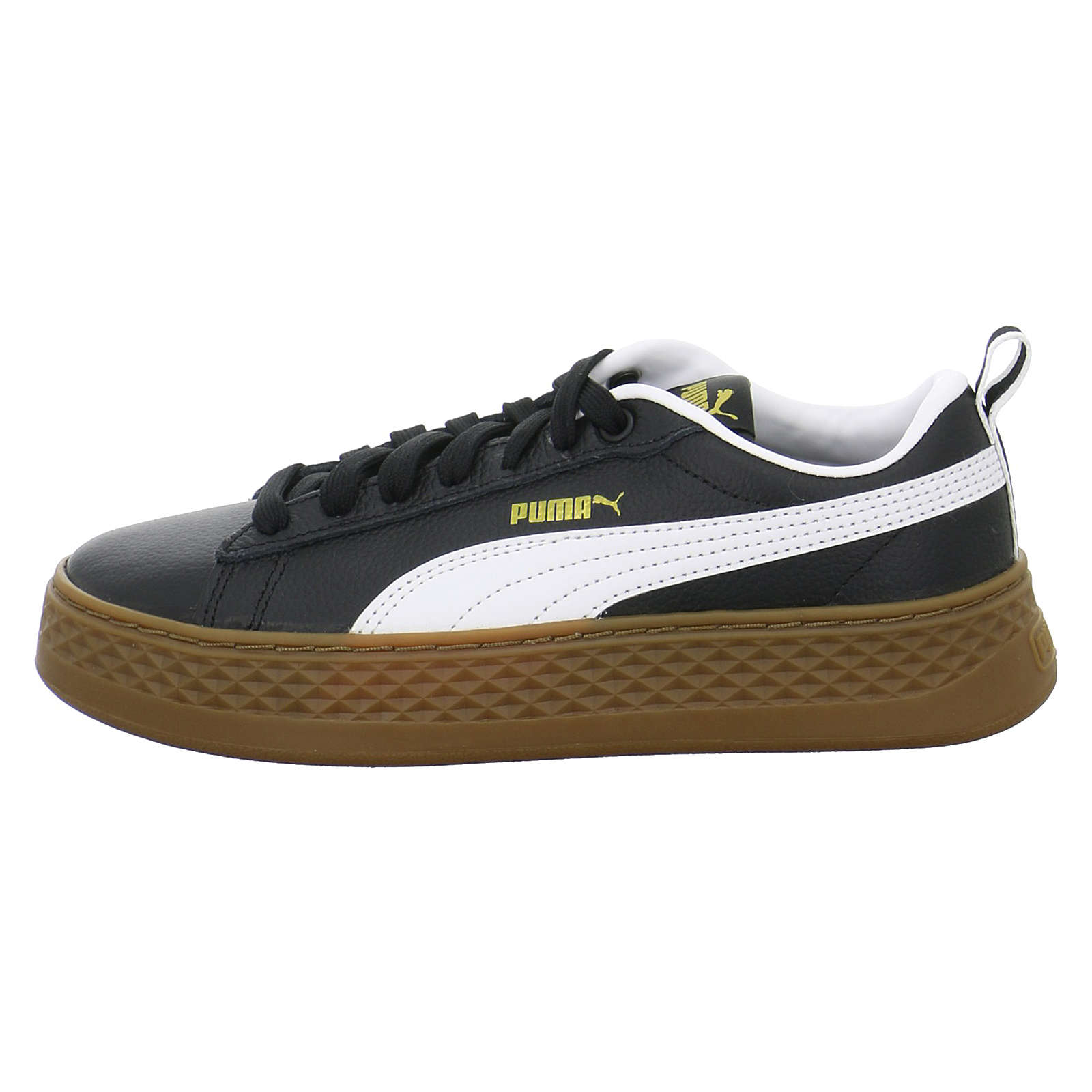 PUMA SMASH PLATFORM VT Sneakers Low schwarz Damen Gr. 37,5
