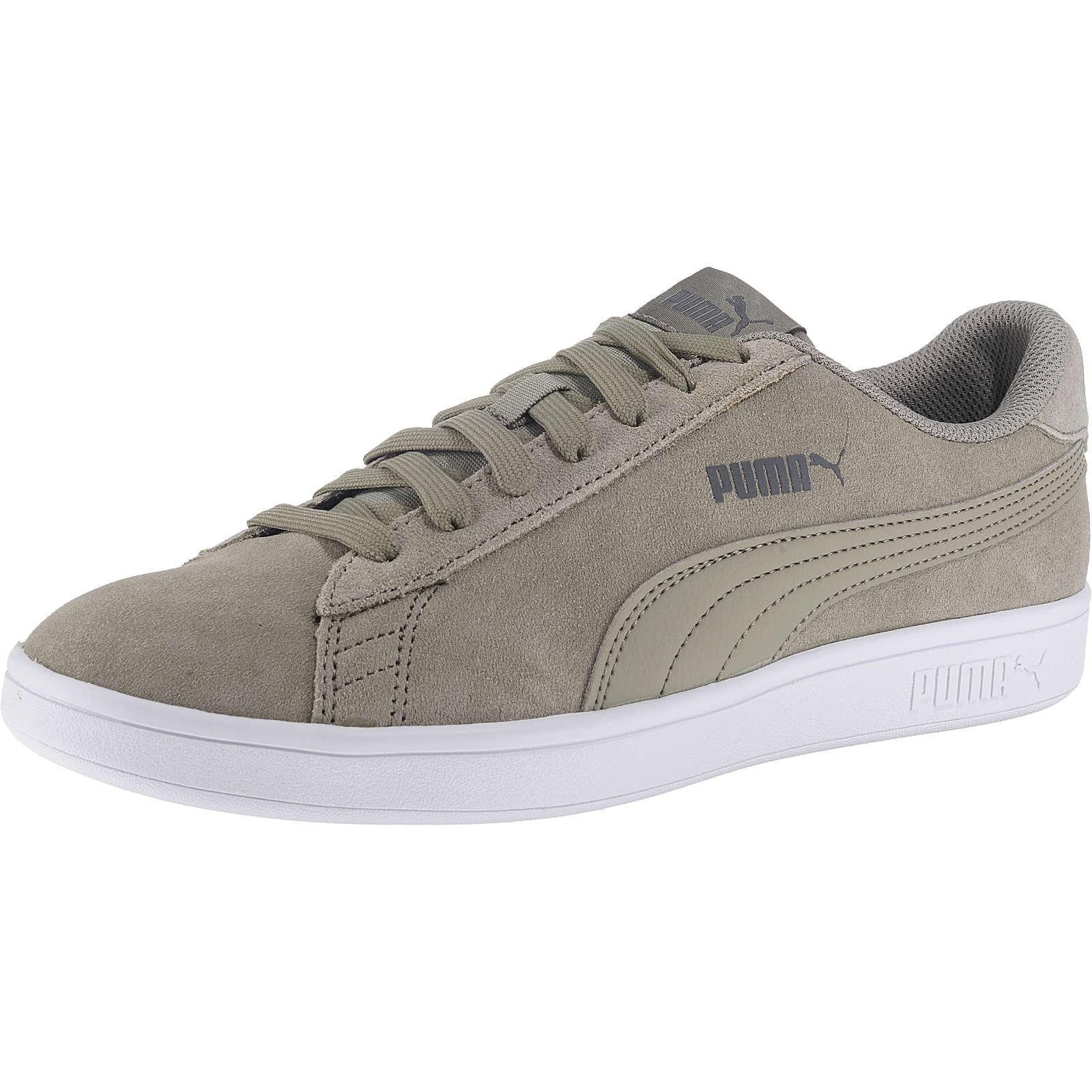 Puma Smash v2 Sneakers Low grau Herren Gr. 44
