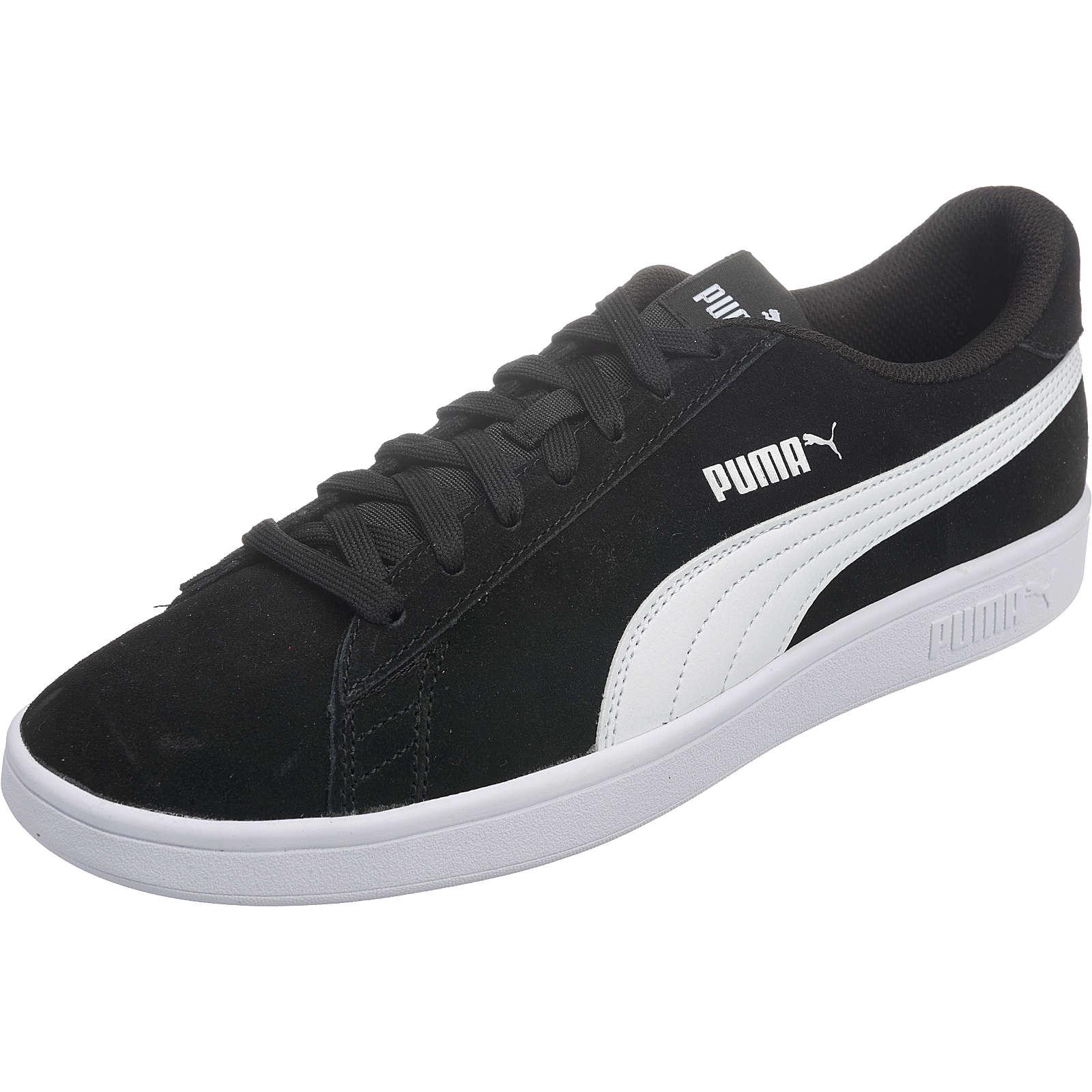 Puma Smash v2 Sneakers Low schwarz-kombi Herren Gr. 43