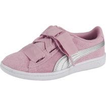 PUMA Sneakers low VIKKY RIBBON AC PS für Mädchen rosa Mädchen Gr. 28