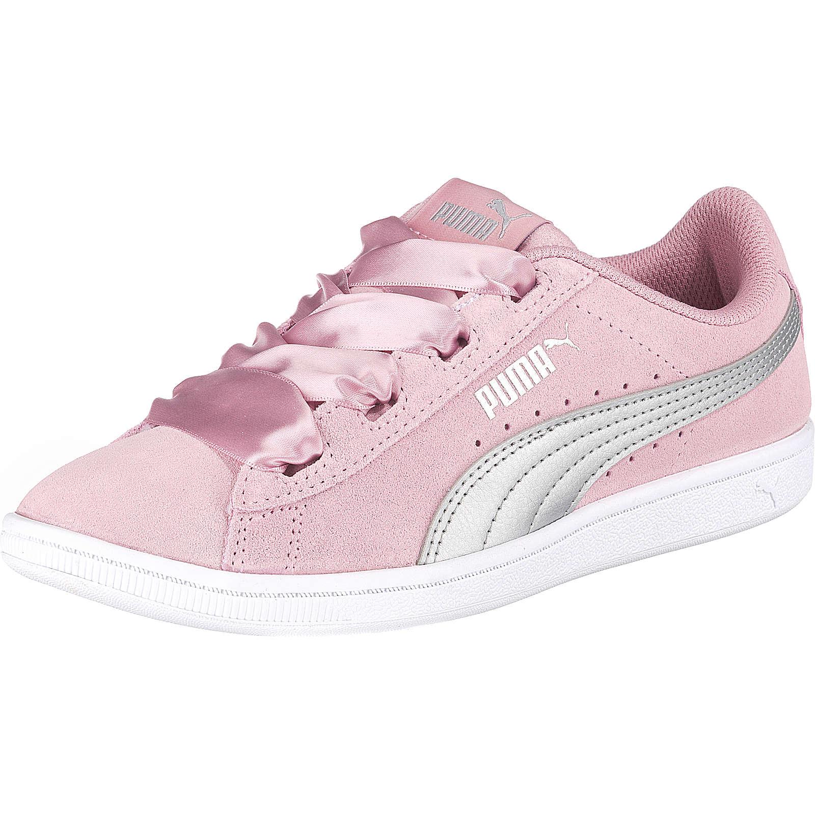 PUMA Sneakers low VIKKY RIBBON JR für Mädchen rosa Mädchen Gr. 37