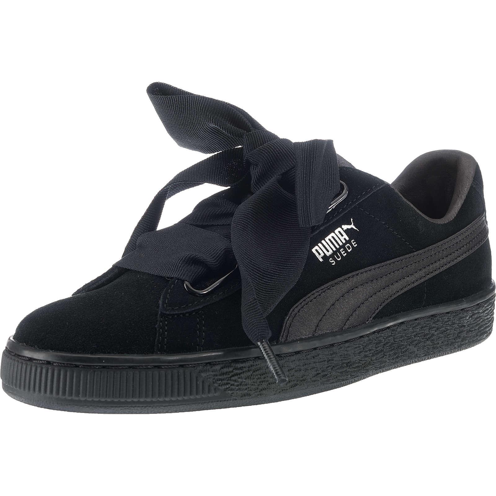 PUMA Suede Heart EP Sneakers schwarz Damen Gr. 39
