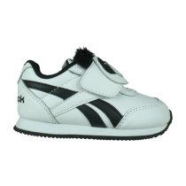 Reebok Baby Sneakers Low ROYAL CLJOG für Jungen schwarz/weiß Junge Gr. 17