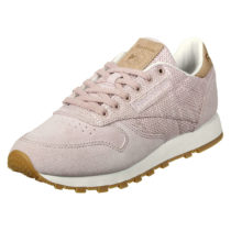 Reebok Sneaker CL Leather EBK mit kontrastierten Details Sneakers Low rosa Damen Gr. 35,5