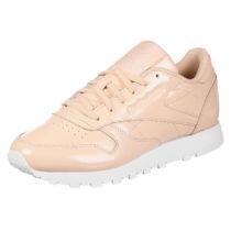 Reebok Sneaker CL Leather Patent W mit profilierter Sohle beige Damen Gr. 40