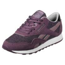 Reebok Sneaker Classic Nylon W im stylischen Retro-Look beere Damen Gr. 35,5