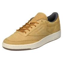 Reebok Sneaker Club C 85 WP mit stabiler Gummilaufsohle Sneakers Low braun Herren Gr. 38,5