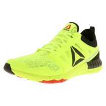 Reebok ZPRINT 3D AR0397 Herren Sneaker Laufschuhe schwarz/neon gelb gelb Herren Gr. 44