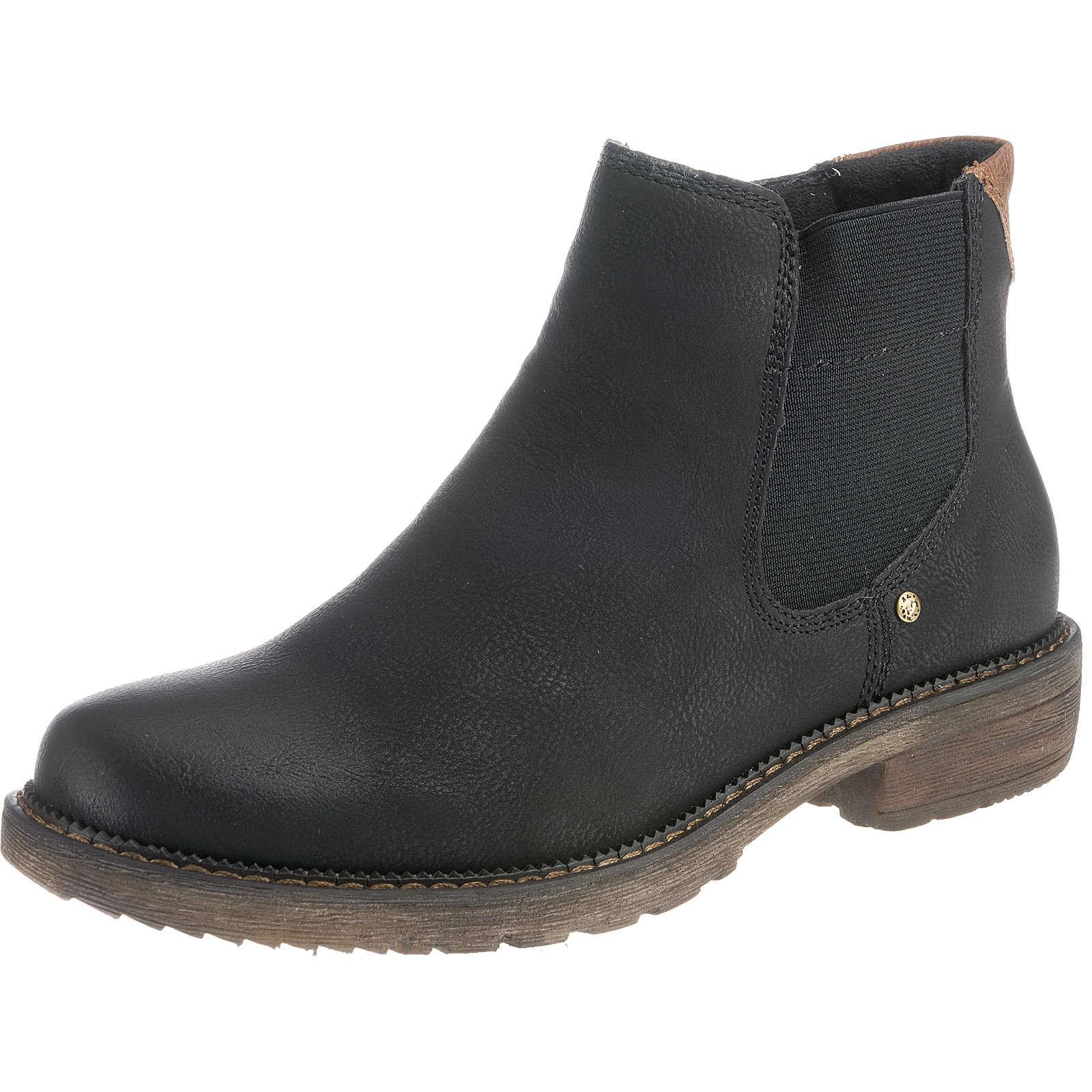 Relife Chelsea Boots schwarz Damen Gr. 40