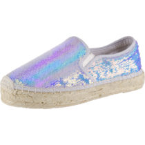 REPLAY HAPPY Espadrilles silber Damen Gr. 36