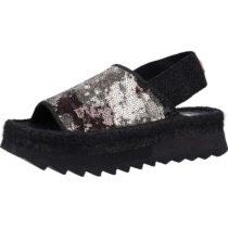 REPLAY Sandalen Klassische Sandaletten schwarz-kombi Damen Gr. 39