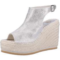 REPLAY Sandalen Klassische Sandaletten silber Damen Gr. 36