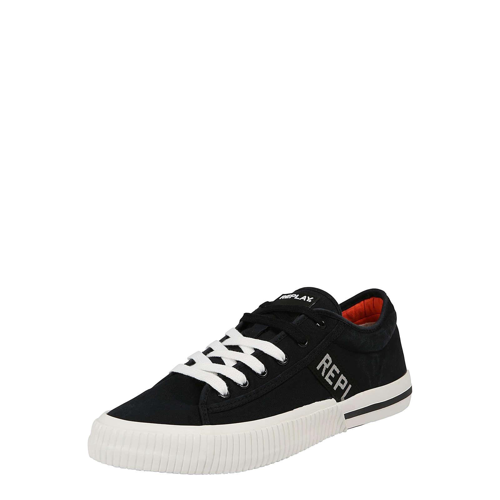 replay sneaker low sneakers low wei herren gr 41. Black Bedroom Furniture Sets. Home Design Ideas