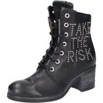 REPLAY Stiefelette Schnürstiefeletten schwarz Damen Gr. 37