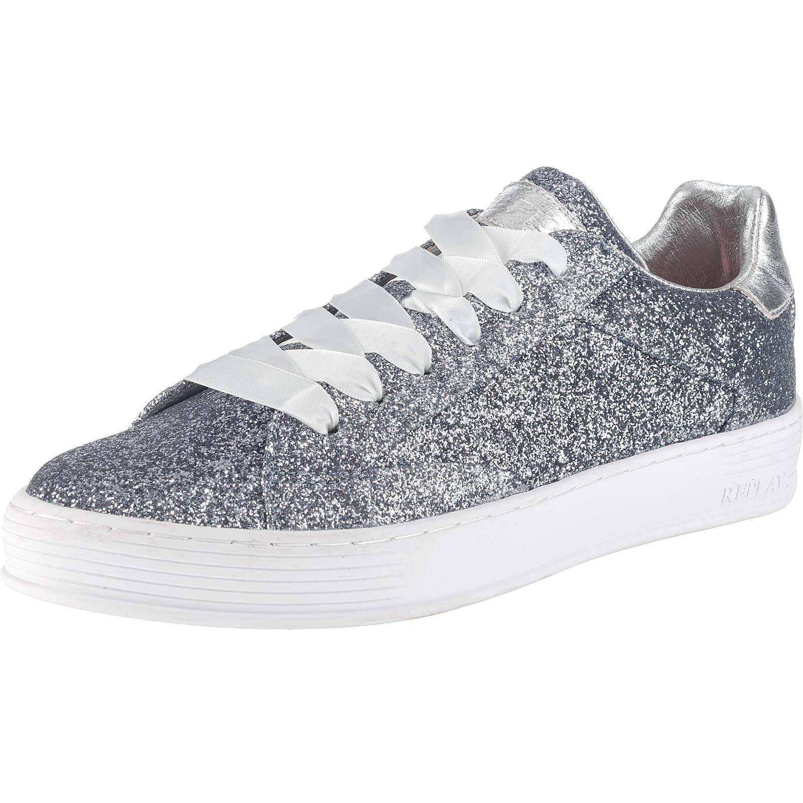 REPLAY Welh Sneakers Low grau Damen Gr. 36