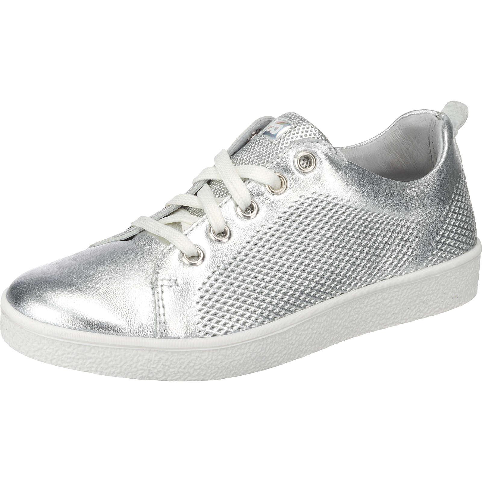 RICHTER Sneakers Low für Mädchen silber Mädchen Gr. 39