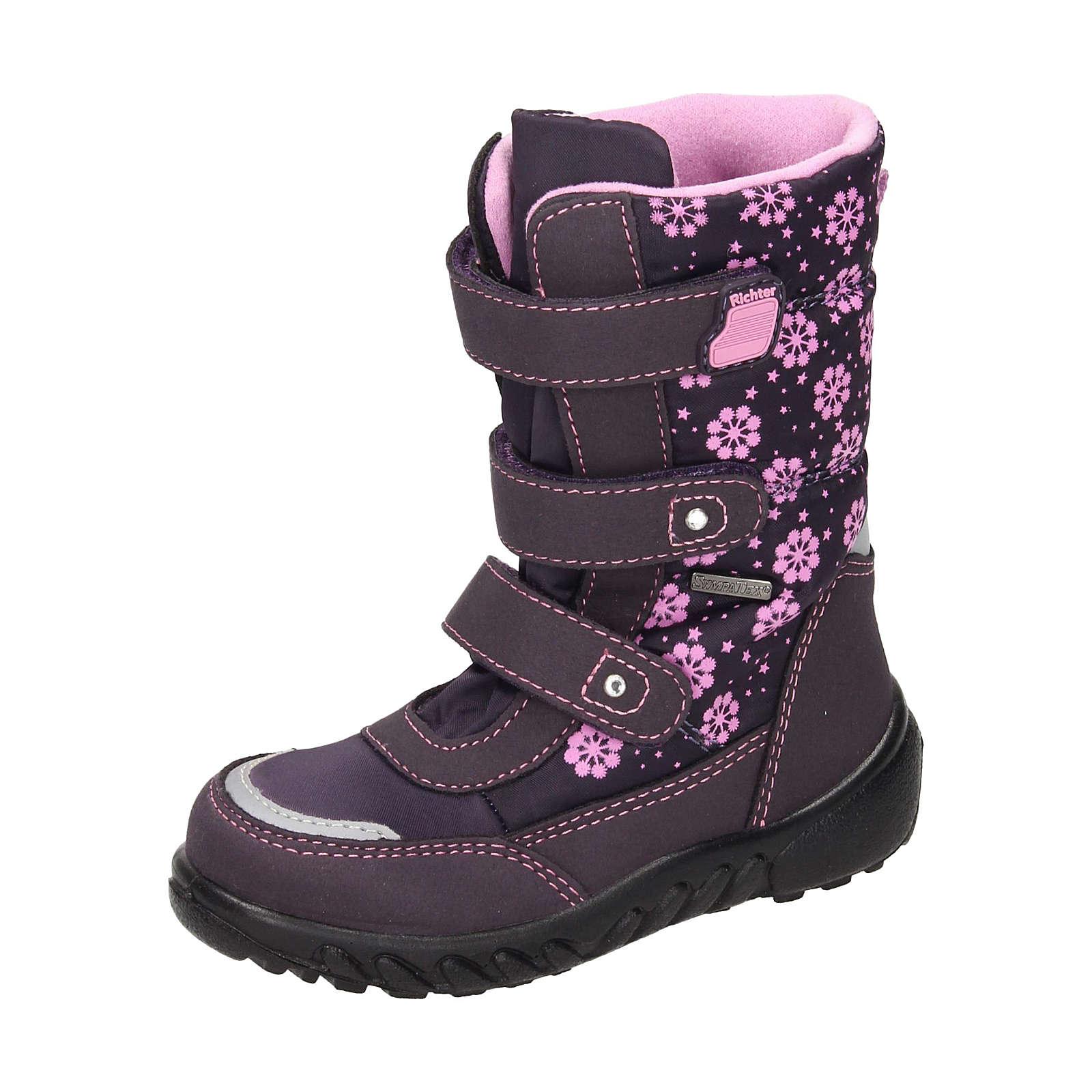 RICHTER Stiefel für Mädchen lila Mädchen Gr. 30