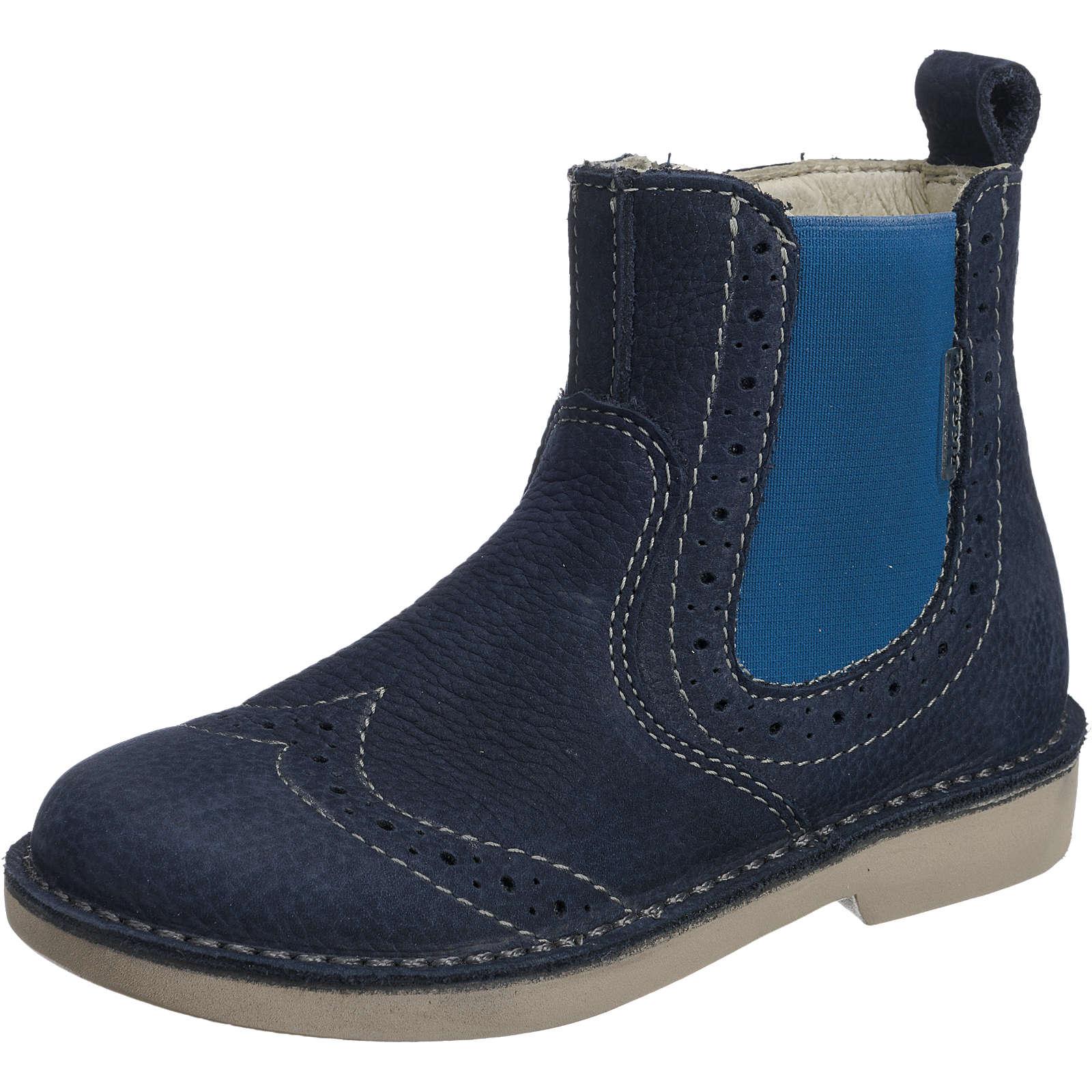 RICOSTA Chelsea Boots DENISA, Weite M, für Mädchen blau Mädchen Gr. 27