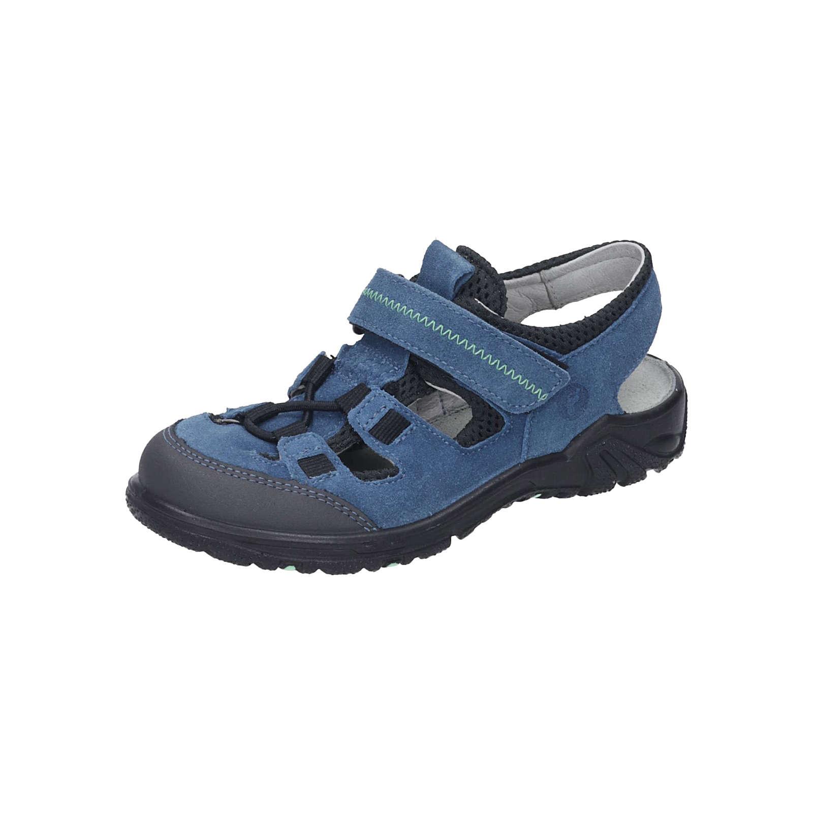 RICOSTA Sandalen für Jungen hellblau Junge Gr. 27