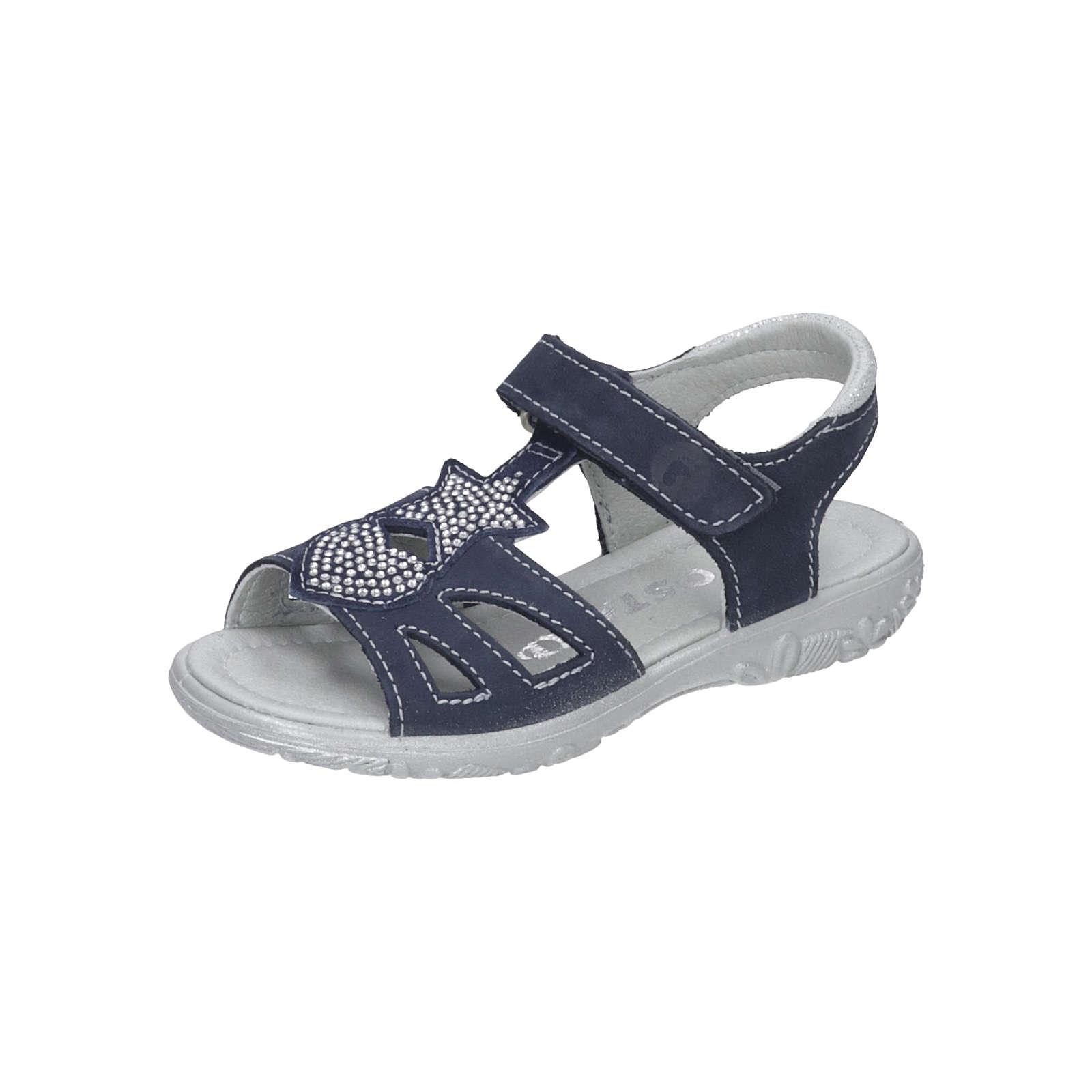 RICOSTA Sandalen für Mädchen blau Mädchen Gr. 26