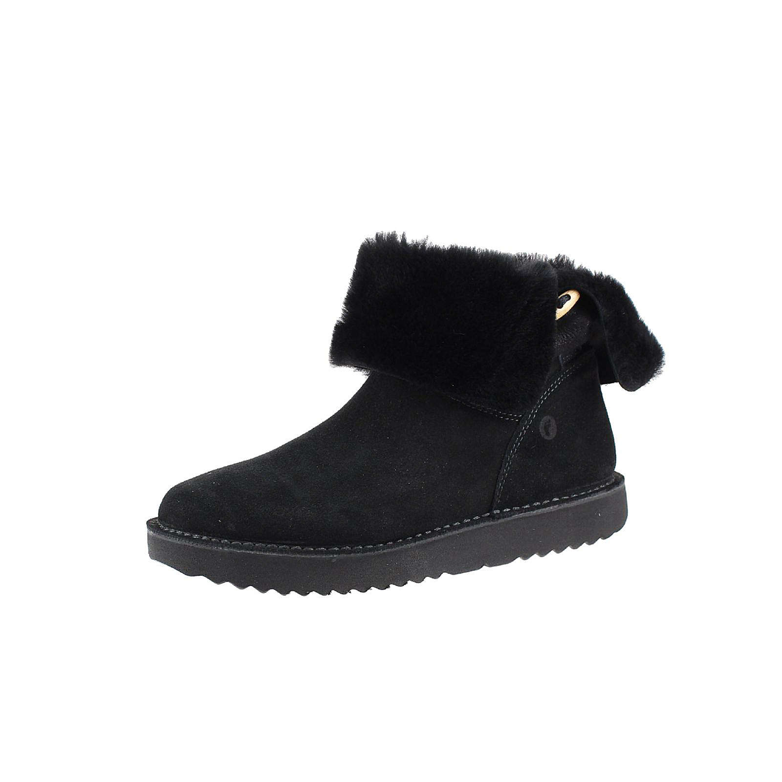 RICOSTA Stiefel für Mädchen schwarz Mädchen Gr. 34