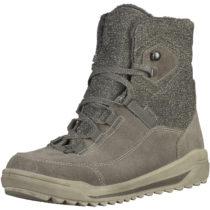 RICOSTA Stiefeletten aus Leder für Mädchen, TEX grau Mädchen Gr. 41